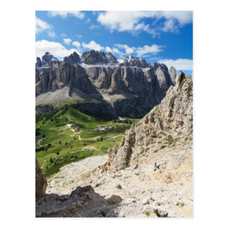 Dolomiti - Sella group and Gardena pass Postcard