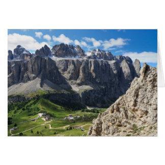 Dolomiti - Sella mount Card