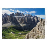 Dolomiti - Sella mount Greeting Card