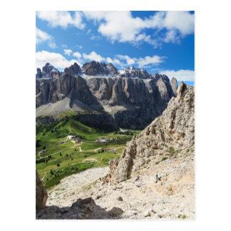 Dolomiti - Sella mount Postcard