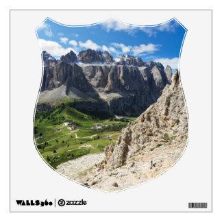 Dolomiti - Sella mount Wall Sticker