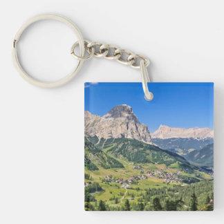 Dolomiti - Val Badia Acrylic Key Chain