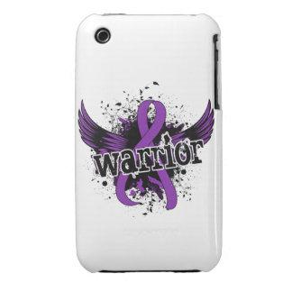 Dolor crónico de la enfermedad crónica del guerrer iPhone 3 Case-Mate protectores