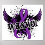 Dolor crónico de la enfermedad crónica del guerrer posters