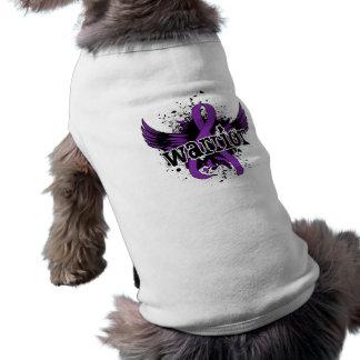 Dolor crónico de la enfermedad crónica del guerrer camisa de mascota