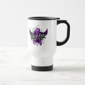 Dolor crónico de la enfermedad crónica del guerrer taza de café