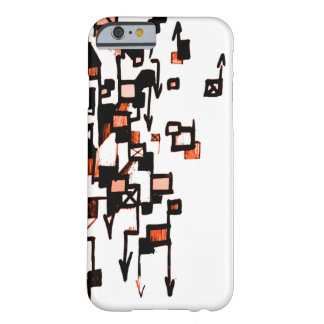 Dolor D (orng) Funda De iPhone 6 Barely There