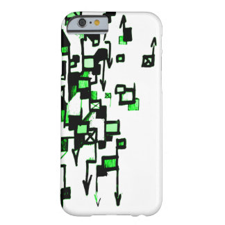Dolor D (verde) Funda De iPhone 6 Barely There