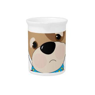 Dolor de muelas del perrito jarra