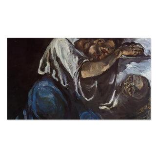 Dolor de Paul Cezanne- Tarjetas De Visita