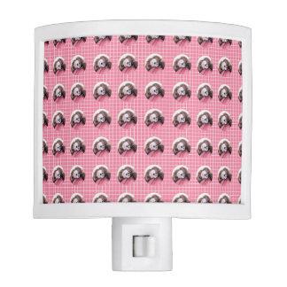Dolor rosado del ruido - modelo del cráneo lámparas de noche