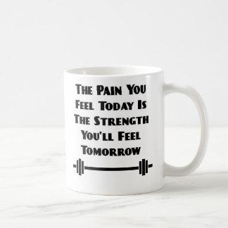 Dolor usted siente hoy la taza