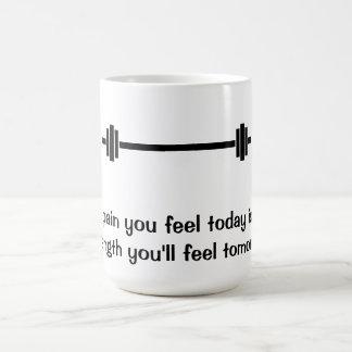 Dolor usted siente hoy la taza de la cita