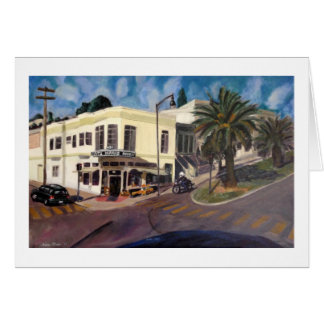 """""""Dolores at 22nd Street"""" by Trina Chow Card"""