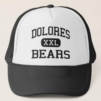 Dolores - Bears - Middle - Dolores Colorado Trucker Hat