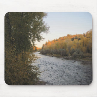 Dolores Colorado River in the Fall Mouse Pad