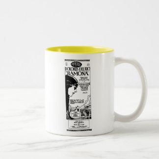 Dolores Del Rio RAMONA 1928 vintage movie ad Two-Tone Coffee Mug