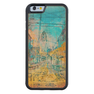 Dolores high cataclysm off the MissionDistrict sfc Carved® Maple iPhone 6 Bumper Case