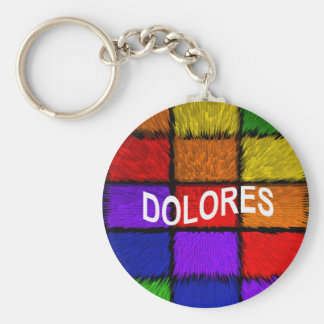 DOLORES KEYCHAIN