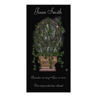 'dolores' memorial handout card