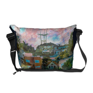 Dolores Park AKA Hipsters Wonderland San Francisco Courier Bags