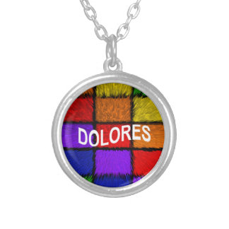 DOLORES SILVER PLATED NECKLACE