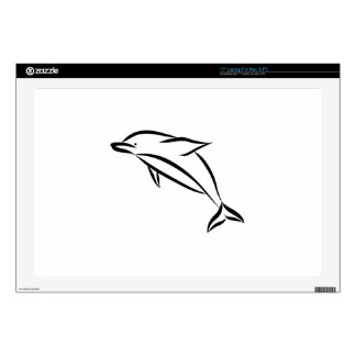 """Dolphin 17"""" Laptop Skins"""