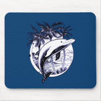 Dolphin 3 mouse pad