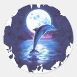 dolphin-8 pegatinas