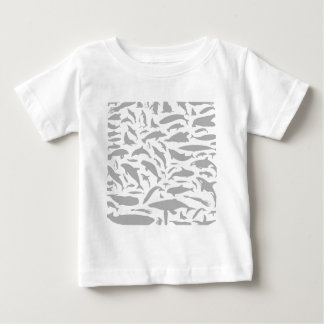 Dolphin a background tee shirt