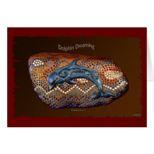 DOLPHIN Aboriginal Australian Greeting Card