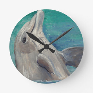 Dolphin aceo clock