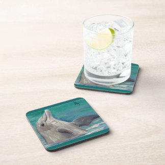 Dolphin aceo Coasters