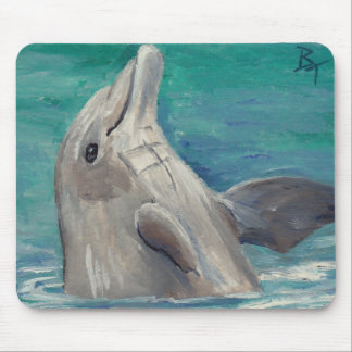 Dolphin aceo Mousepad