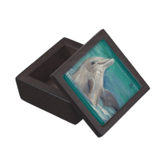 Dolphin aceo Premium Gift Box