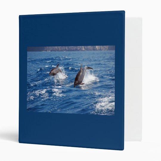 Dolphin Adventure Binder