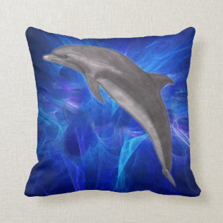 Dolphin American MoJo Pillow