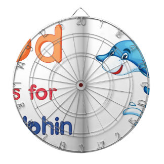 Dolphin and a book dartboards