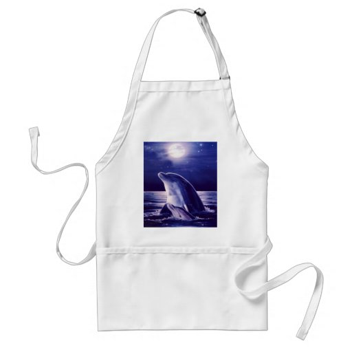 Dolphin and Baby Apron