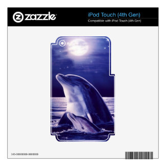 Dolphin and Baby iPod Touch 4G Skin