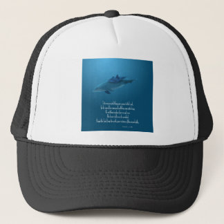 Dolphin and Baby Trucker Hat