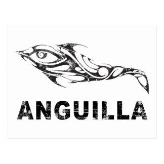 Dolphin Anguilla Postcard