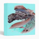Dolphin art Avery Binder