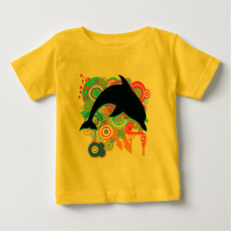 Dolphin Art Baby T-Shirt