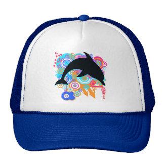 Dolphin Art Mesh Hats