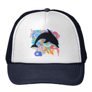 Dolphin Art Mesh Hat