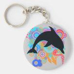 Dolphin Art Keychains