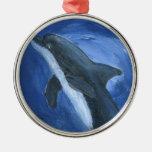 dolphin art ornament