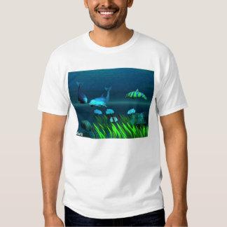 Dolphin at play tee shirt
