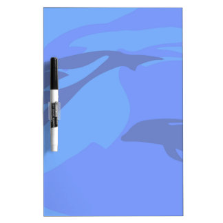 Dolphin Background Dry-Erase Board